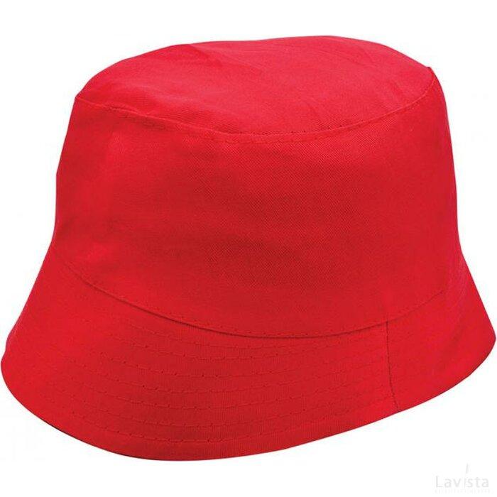Promo Vissershoed Rood