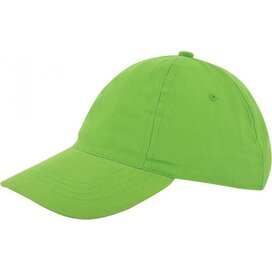 Kinder Brushed Promo Cap Groen