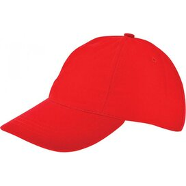 Kinder Brushed Promo Cap Rood