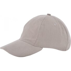 Kinder Brushed Promo Cap Grijs