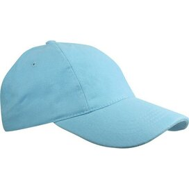 Kinder Brushed Promo Cap Lichtblauw