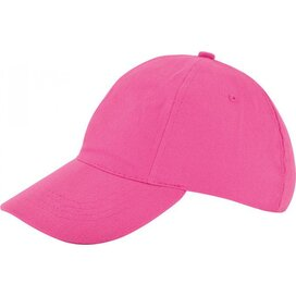 Kinder Brushed Promo Cap Roze