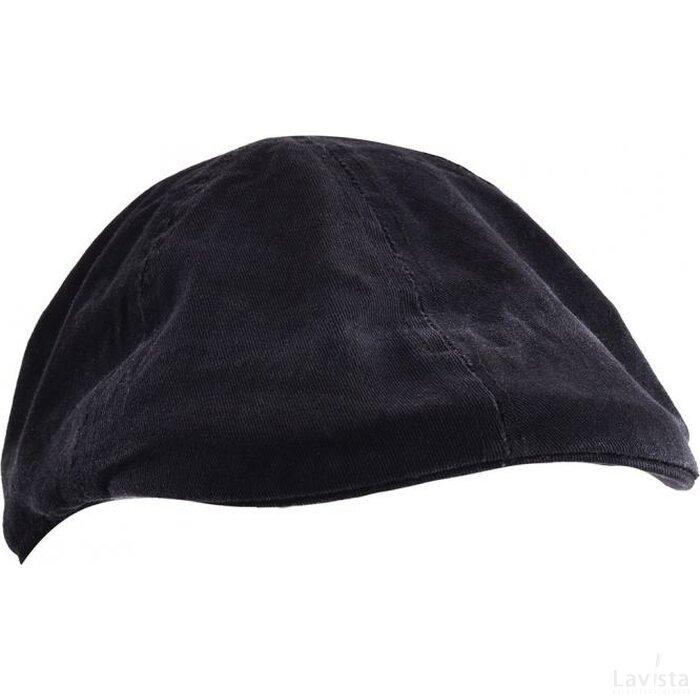 Retro Gatsby Cap Zwart