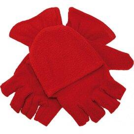 Half-vinger Handschoenen 280 Gr/m2 Rood