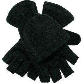 Half-vinger Handschoenen 280 Gr/m2 Zwart