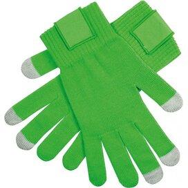 Touchscreen Handschoenen Met Label Groen