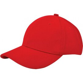 Heavy Brushed Cap Rood