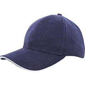 Heavy Brushed Cap Navy