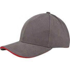 Heavy Brushed Cap Grijs
