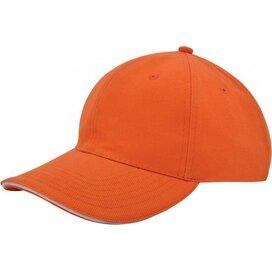 Heavy Brushed Cap Oranje