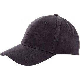 Heavy Brushed Cap Zwart
