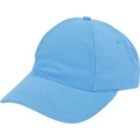Brushed Promo Cap Lichtblauw
