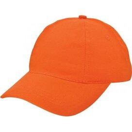 Brushed Promo Cap Oranje