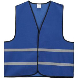 Trainingsvest Polyester Kobalt