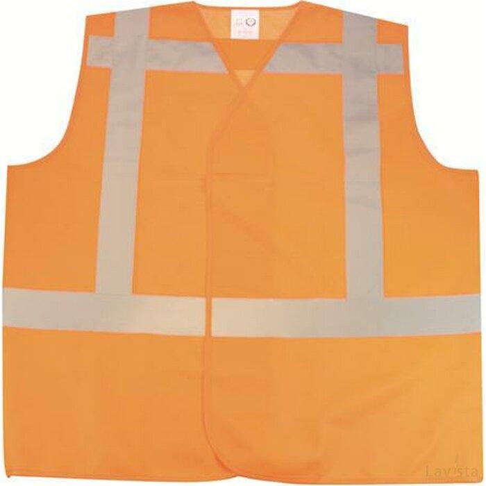 Rws Veiligheidsvest Polyester Xl (en471/klasse2) Oranje