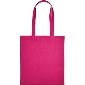 Cotton Bag Lang Hengsel Roze