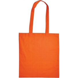 Cotton Bag Lang Hengsel Oranje